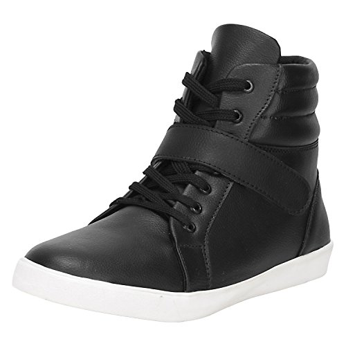 Kraasa Men's Black Synthetic Boot -9