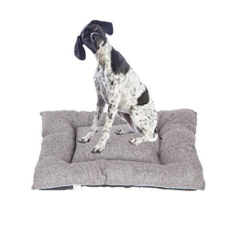 Hiboy Pet Haustierbett für Hunde Hundematratze Haustiermatratze, Größe XL, Grau Saluki Hat