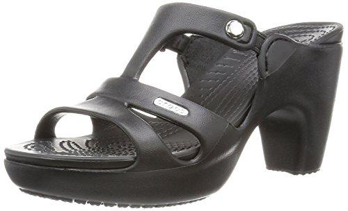 crocs Cyprus V Heel Women, Damen Pumps, Schwarz (Black/Black), 41-42 EU (Heels Pantoletten)