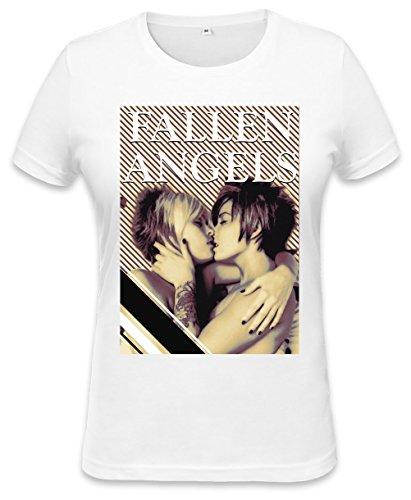 Fallen Angels Religion Womens T-shirt X-Large (Angel T-shirt Fallen)
