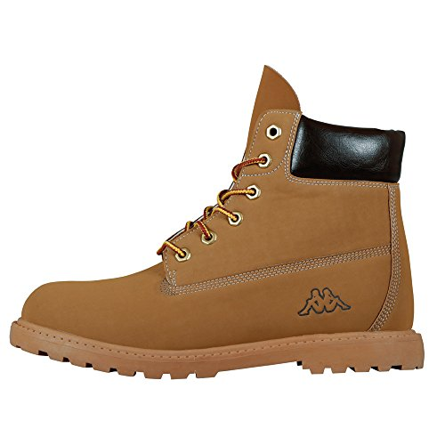 Kappa - Kombo Mid Footwear Unisex, Alte Scarpe Da Ginnastica, unisex, Beige (4150 beige/brown), 38