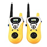 #10: Catterpillar (TM) Battery Operated Walkie Talkie set for Kids (Yellow)