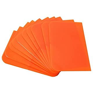 Plastikspachtel orange 10 Stk.