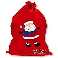Nikolaussack Weihnachten Geschenkbeutel aus Filz personalisiert mit eurem Wunschnamen!