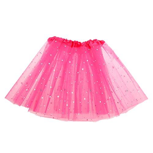 Imported Girls Kids Glitter Star Tutu Skirt Ballet Dress Pettiskirt...