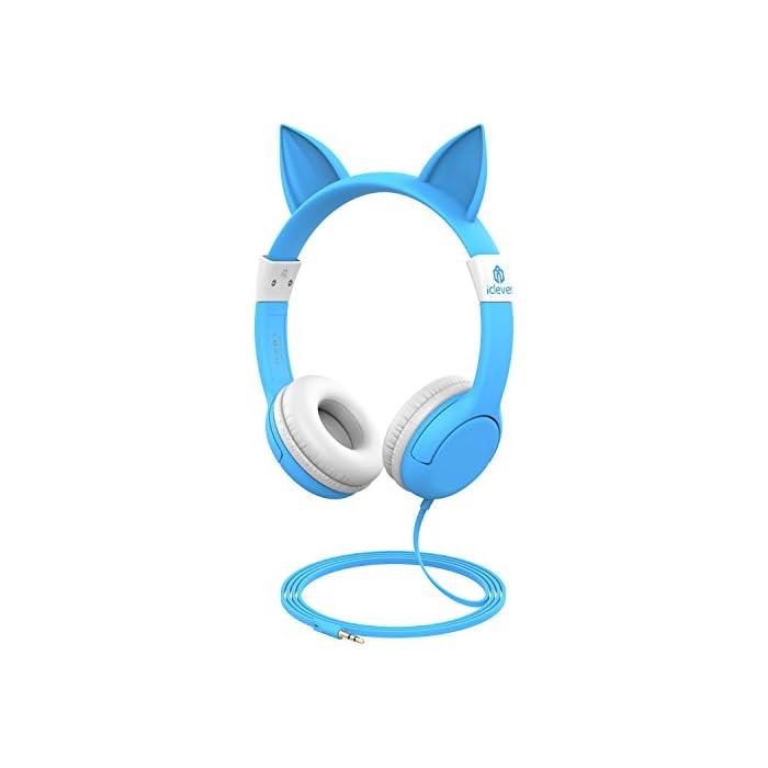 iclever Lautstärkenkontrolle Kinder Kopfhörer