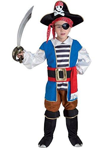 Disfraces Chiber - Disfraz de Pirata para Niño (Talla 6)