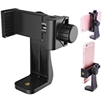 Humble Universal Tripod Mount Adapter Clip with Adjustable Clamp for Mobile Phone, Smartphones & All Types of Tripods…