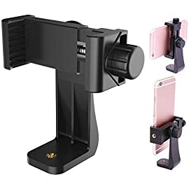 Humble Universal Tripod Mount Adapter Clip with Adjustable Clamp for Mobile Phone, Smartphones   All Types of Tripods…