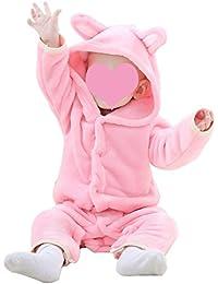 Bébé Strampler bebe hiver Garçon Fille Flanelle animal vetements -Mxssi Unisexe Toddler Enfants Animaux costume 3 couleurs 0-24 Mois