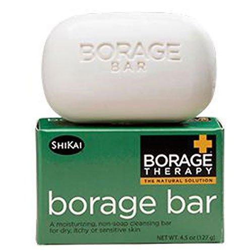 Shikai Borage Bar Soap, 4.5 Oz