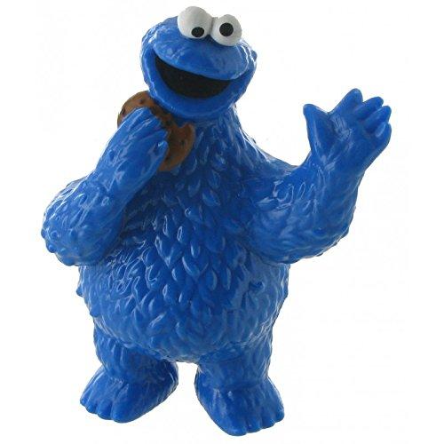 Comansi Y90124. Figure Pvc Cookie Monster. Sesame Neighborhood Series. 8 cm height