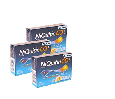 Niquitin CQ Patches 21mg Original - Step 1 - 7 Patches - PACK OF 3 by Niquitin