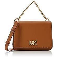 Michael Kors - Mott, Shoppers y bolsos de hombro Mujer, Marrón (ACORN)