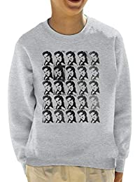 Alamy Elvis Presley 1956 Pop Art Kids Sweatshirt