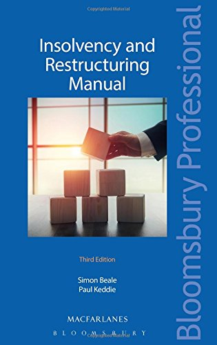 Insolvency and Restructuring Manual por Simon Beale