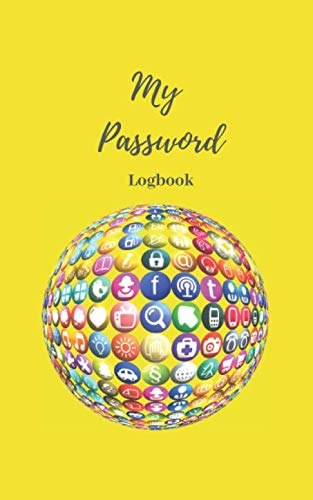 My Password Logbook: Personalized Journal & Organizer With Alphabetical Tabs