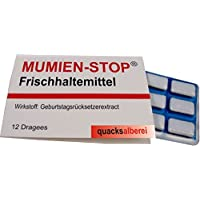 "quacksalberei Witzige Kaugummis ""MUMIEN-STOP"" (1 x 14g)"