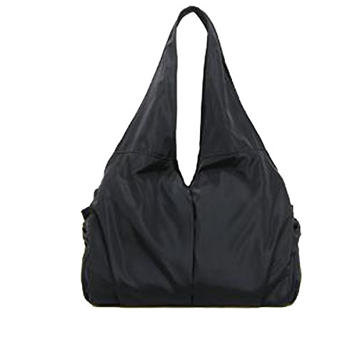 2017 Neuer Art Und Weisefreizeit-Sportbeutel Handtasche Dame-Schulterbeutel Gewaschenes Tuch Reine Farbenhandtaschen,Black-OneSize - Lila Krokodil-design
