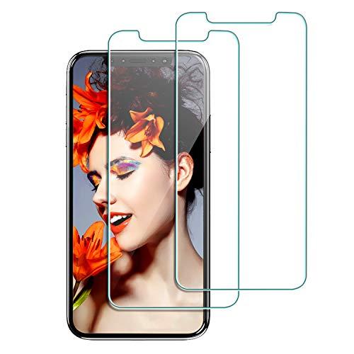 Babacom Protector Pantalla iPhone XR [2-Unidades]