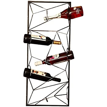 Moderno Portabottiglie Vino Da Parete Design.Accessori Vino E Bar Mys C K P Portabottiglie Da Vino In Metallo