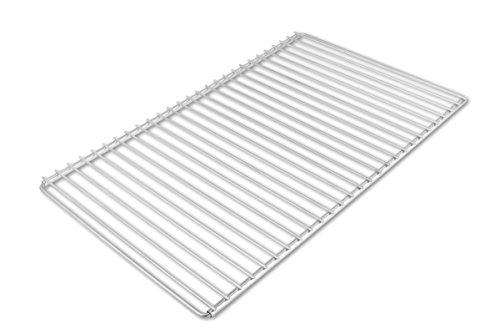 Edelstahl Grillrost mit verstellbarer Breite 60-70X37cm aus Europäischem Edelstahl, Verstellbarer Grillrost, Grillrost Ausziehbar
