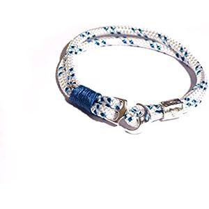 "Original ""vom Chiemsee"" Segeltau Armband, Segler Armband,"