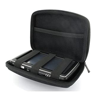 Navi Hardcase Tasche für Becker active.5 CE LMU12,7 cm (5 Zoll) bis 13,2 cm (5,2 Zoll) GPS Schutzhülle Etui Case Hardcover schwarz