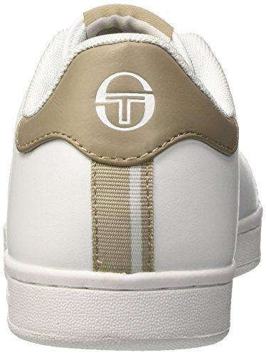 Sergio Tacchini Gran Torino, Sneakers basses homme Bianco (Earth)