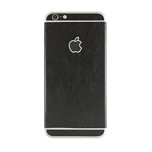 stika.co Strukturierte Haut Aufkleber für Apple iPhone 6/6S 11,9 cm, Black Leather, to fit Apple iPhone 6 / 6S 4.7