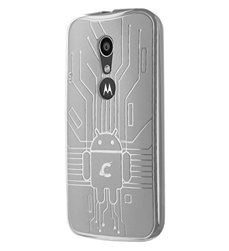 1d38a6141fe Cruzerlite Bugdroid Circuit TPU Case for the New Moto G (2014) - Retail  Packaging