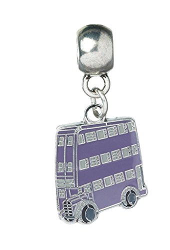 Harry Potter Anhänger Fahrender Ritter Slider Charm versilbert 1,8x1,5cm Schmuck (Slider Charm Schmuck)