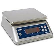 Balanza industrial Gram Precision modelo GX-15K (15Kg/1g) dimensiones del plato