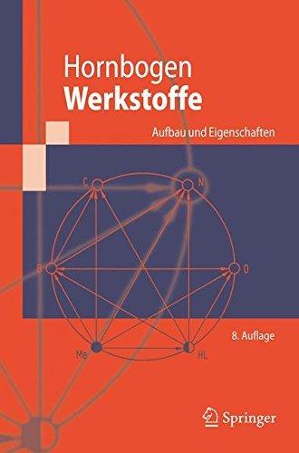 Werkstoffe: Aufbau und Eigenschaften von Keramik-, Metall-, Polymer- und Verbundwerkstoffen (Springer-Lehrbuch)
