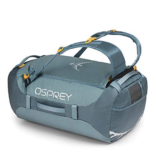 Osprey Transporter 65 strapazierfähige Duffel-Reisetasche mit Tragesystem und abnehmbarem, gepolstertem Schultergurt, unisex - Keystone Grey (O/S)