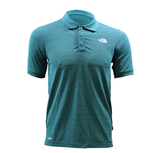 THE NORTH FACE North Face M SOLARBAND Pro SS Polo Homme Bleu Vaporwick