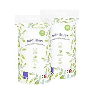 Bambino Mio, mioliners (biologisch Abbaubares windelvlies), 8er Packung