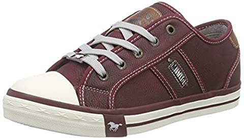 Mustang 1209-301, Damen Sneakers, Rot (55 bordeaux), 41 EU (7.5 Damen UK)