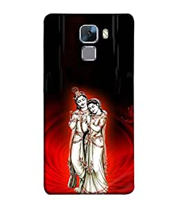 99Sublimation Designer Back Case Cover for Huawei Honor 7 (Very Good designer God cases , Diwali Festival case , Christmas cases)