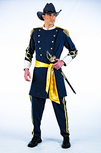 Elbenwald Batman-Kostüm Südstaaten-Kostüm für Karneval oder Mottoparty-Uniform mit Jacke, Hose, Hut und (Authentische Batman Kostüm)
