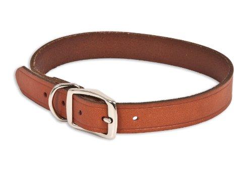 Ruff Maxx 10830Hundehalsband aus Leder, 51cm, braun (Wear Reflektierende Ruff Leine)