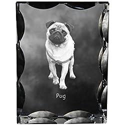 Doguillo, Cristal cúbico con el perro, recuerdo, decoración, edición limitada, Colección