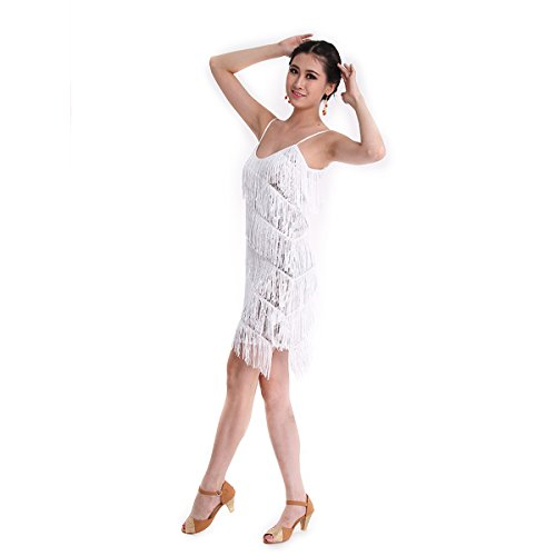 danza-vestido-coastacloud-mujer-concurso-de-danza-vestido-tassle-latin-moderno-discoteca-blanco-m