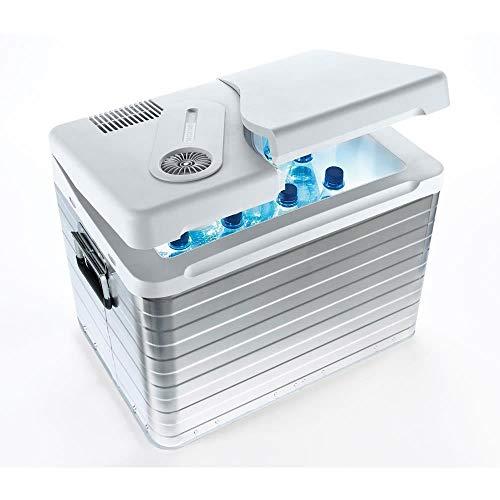 Mobicool Q40 AC/DC -  tragbare thermo-elektrische Alu-Kühlbox, 39 Liter, 12 V und 230 V für Auto, Lkw und Steckdose, Aluminium-Gehäuse