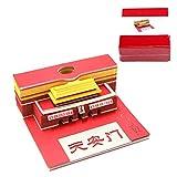 Yangfr DIY Scrapbooking 3D Sticker Sticky Note Creative Papers Card Craft Art Tiananmen Reminder Desktop Note Sticker