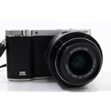 Samsung NX3000 20MP Compact System Camera with 20-50 MM Lens - Black