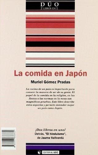 El hinduismo y La comida en Japón (DUO) por Jaume Vallverdú