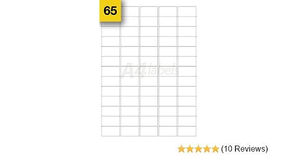 1300 White Sticky Mini Address Labels. 38mm X 21mm