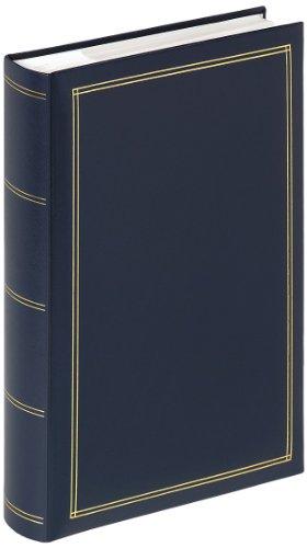Walther Design ME-140-L Einlegealbum Monza 300 Foto, PVC, Blau, 24 x 5 x 33 cm