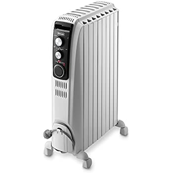 Delonghi Vento Electric Oil Filled Radiator 15 Kw Grey